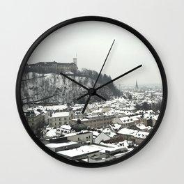 Ljubljana Slovenia Wall Clock