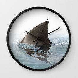 Shark fin Wall Clock