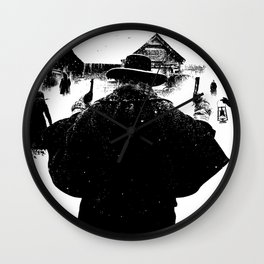 The Hateful Eight Wall Clock