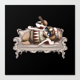 King Dedede - Draw me like one of your french girls Canvas Print