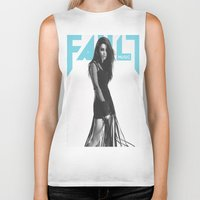 charli xcx Biker Tanks featuring Grins ~ Charli XCX by Michelle Rosario