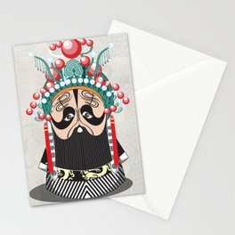 Beijing Opera Character XiangYu Stationery Cards