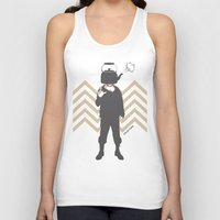 steam punk Tank Tops featuring Steam Punk by Jade Deluxe