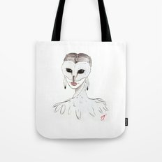 The Masquerade: The Owl Tote Bag