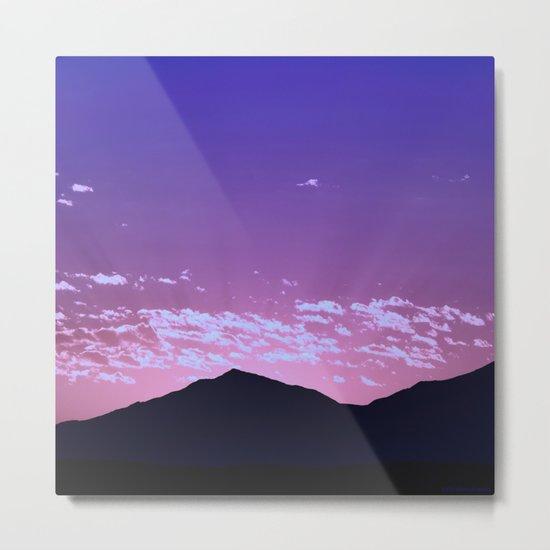 SW Mountain Sunrise - I Metal Print