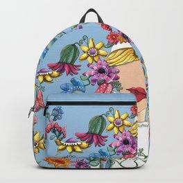 I Love the Flower Girl Backpack