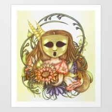 The Ghostesses Of Caprice Art Print #1 Art Print