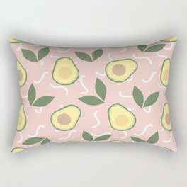 Avocado Fiesta Rectangular Pillow