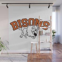 Bisons Ultimate vintage team gears Wall Mural
