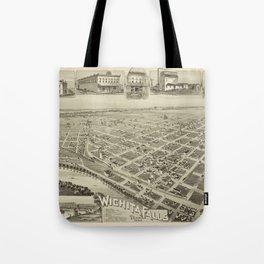 Wichita Falls 1890 Tote Bag