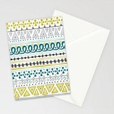 Boho Market Stripe Stationery Cards