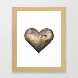 salutations Framed Art Print