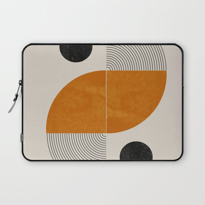 Abstract Geometric Shapes Laptop Sleeve