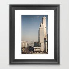 River Tower - Yeouido - Seoul Framed Art Print