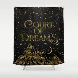 Court of Dreams Shower Curtain