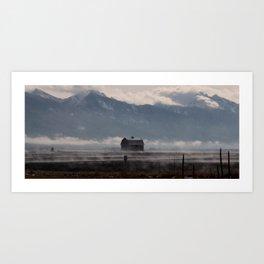 The Winter Storm Art Print