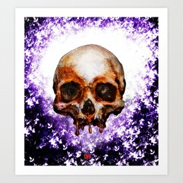 Violet Intentions Art Print