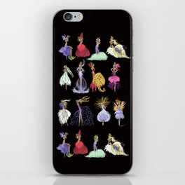 Thumbelina Dresses! iPhone Skin
