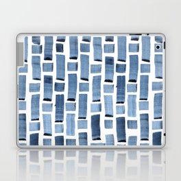Blue Weave Laptop & iPad Skin