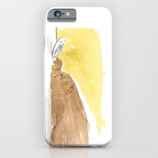 Bear is tired of fish Slim Case iPhone 6s