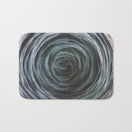 Abstract waves Bath Mat