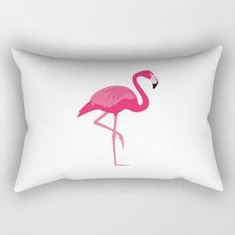 Flamingo time Rectangular Pillow