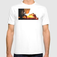 Find River Song White Mens Fitted Tee MEDIUM