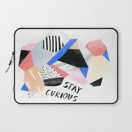Stay Curious Laptop Sleeve