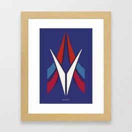 Symmetry: Mazinga Framed Art Print