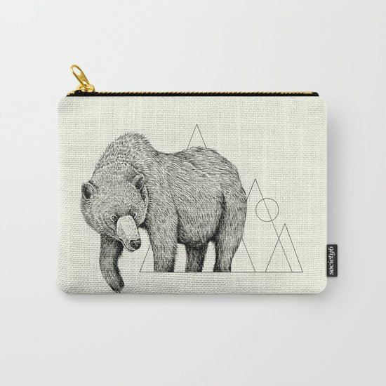 'Wildlife Analysis IV' Carry-All Pouch