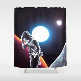 Forgetting Shower Curtain