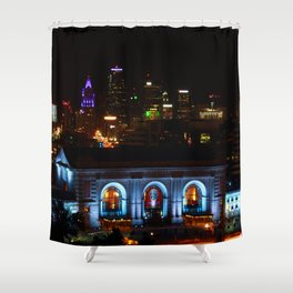 Union Station Kansas City Shower Curtain