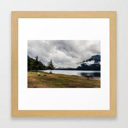 Lake Crescent, Washington Framed Art Print