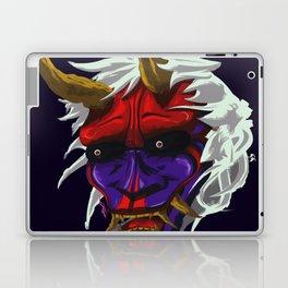 oni red demon Laptop & iPad Skin