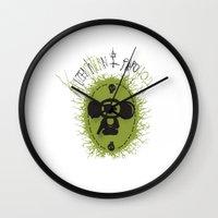 che Wall Clocks featuring che by kruzenshtern i parohod
