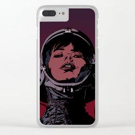 Cosmonaut | Version 1 Clear iPhone Case