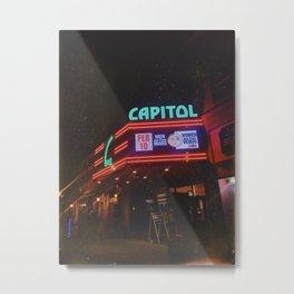 Vintage Movie Theater Metal Print