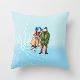 Eternal Sunshine of the Spotless Mind - Pixel Art - Square Throw Pillow