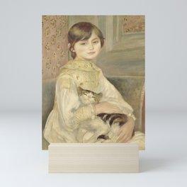 "Auguste Renoir ""Julie Manet"" Mini Art Print"
