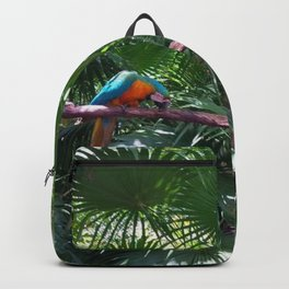 Macaws on the tree Backpack