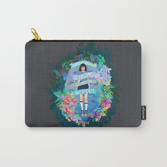 I Am A Smart, Strong, Sensual Woman - Tina Carry-All Pouch
