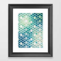 Stars Pattern #003 Framed Art Print