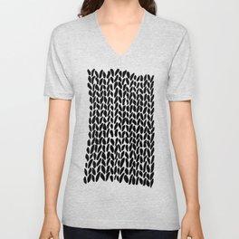 Hand Knit Zoom Unisex V-Neck