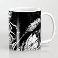 bane Mugs featuring Bane by DeMoose_Art