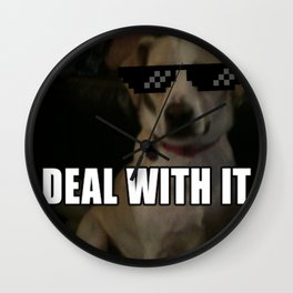 Deal With Dusty Wall Clock