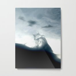 Deep Impact Twirl Metal Print