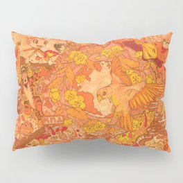 """""""The hub of natural beautiful, creation and happiness"""" Pillow Sham"""