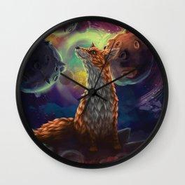 The Fox, Little Prince , Saint-Exupery Wall Clock