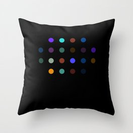 Damien Hirst, outspoken again! Throw Pillow
