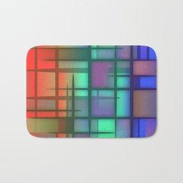 Abstract Design 6 Bath Mat